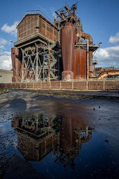 Fabrik spiegelung von Albert Mendelewski