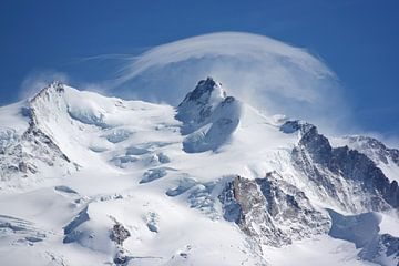 Nordend und Dufourspitze von Menno Boermans