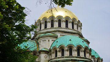 Alexander Nevski-kathedraal Sofia - Bulgarije van Tim Vaal