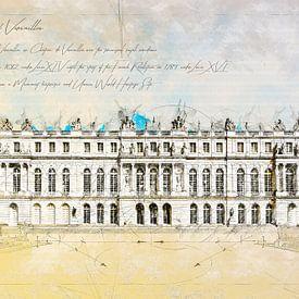 Château de Versailles, France sur Theodor Decker