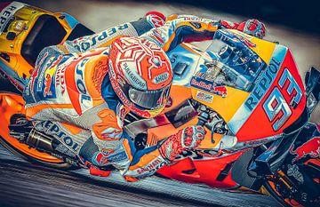 Marc Marquez #93 Honda Repsol Team van Theo Groote