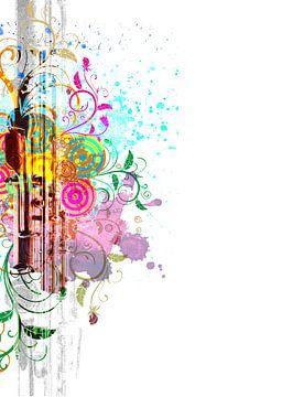 Flute #1 van Peter Baak