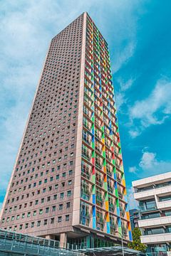 Westpoint-Turm auf der Ringbaan West Tilburg von Freddie de Roeck