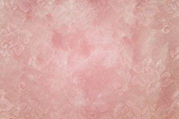 Rose Lace mit Rosen auf Rosenquarz von Peter Hermus