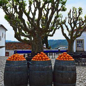 Oranje  in Portugal van Vera Cerutti