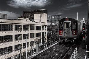 Subway Line 7 in Queens