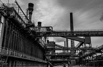 Die alte Fabrik in Essen von Joerg Keller