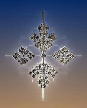 Vrij drijvend kruis van Manfred Kunz