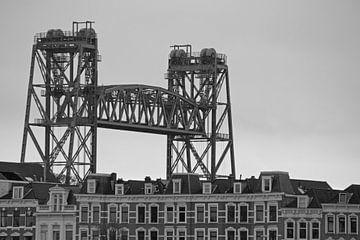 De Hef oberhalb der Nordinsel in Rotterdam von Remco Swiers