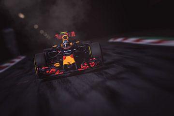 Max Verstappen - F1 Redbull Racing sur Kevin Baarda