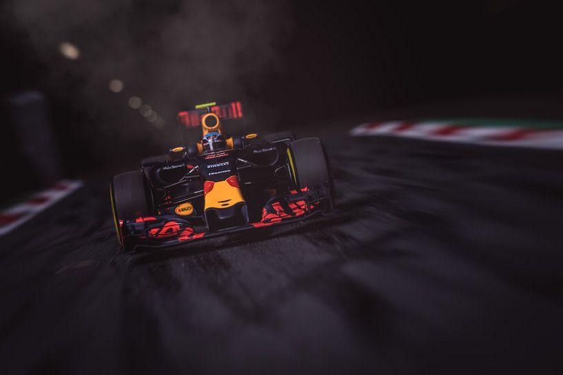 Max Verstappen - F1 Redbull Racing van Kevin Baarda
