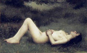 Weiblicher Akt, Louis Courtat von Atelier Liesjes