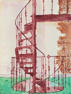 Wenteltrap 2 (Winding Staircase 2, Wendeltreppe 2, escalier en colimaçon 2) van