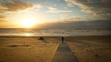 Silhouette im Sonnenuntergang von Sran Vld Fotografie