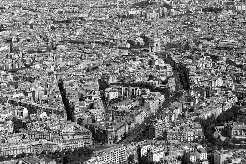 Arc de Triomphe Parijs van Jean-Paul Wagemakers