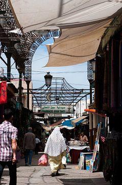 In Souk van Rabat, Marokko van Jeroen Knippenberg