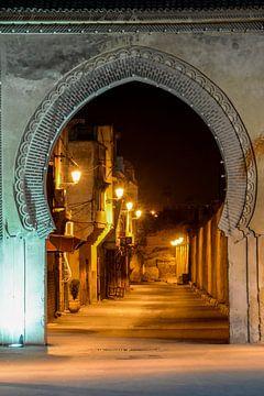 Arabische poort te Meknes
