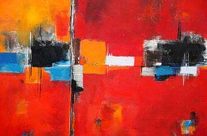 Abstrakt Nr.26 von Claudia Neubauer