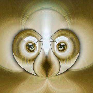 Phantasievolle abstrakte Twirl-Illustration 73-28 von PICTURES MAKE MOMENTS