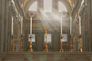 Kirche St. Peter, Vatikanstadt von rene marcel originals