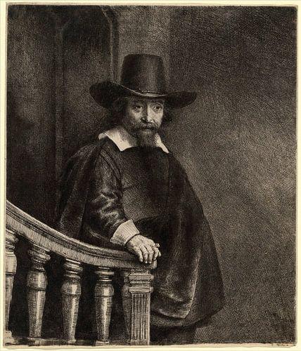 Rembrandt van Rijn,  Ephraim Bonus von Rembrandt van Rijn