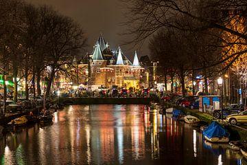 Nieuwmarkt (Amsterdam) van Edwin Butter