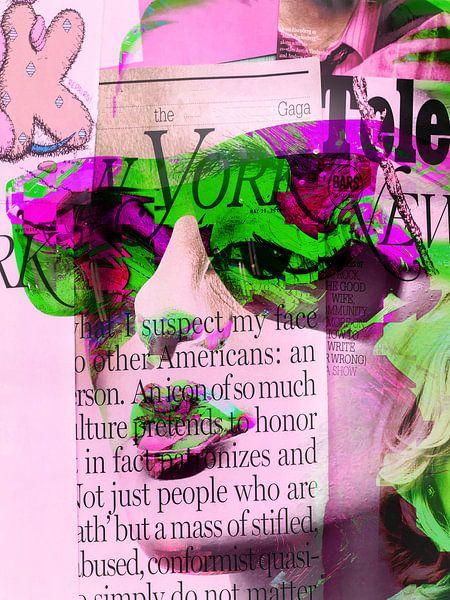 Feeling green and pink van Gabi Hampe