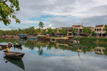 Hoi An in Vietnam van Richard van der Woude