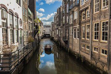 Visbrug in Dordrecht van Kristof Mentens