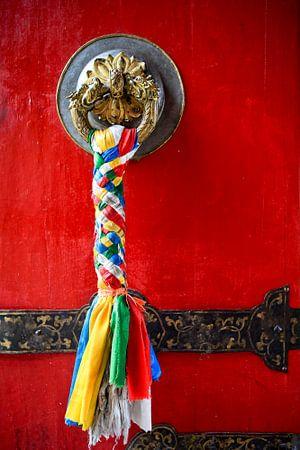 Tür Potala-Palast Lhasa Tibet