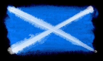 Symbolische nationale vlag van Schotland van Achim Prill