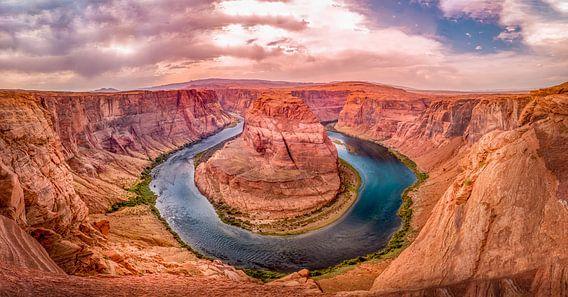 Horseshoe bend Grand Canyon, USA van Chris Wiersma