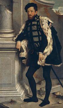 Porträt eines Herrn (Michel de l'Hospital), Giovanni Battista Moroni