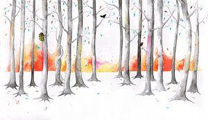 Timeless forrest, een tijdloos bos von