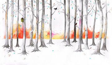 Timeless forrest, een tijdloos bos van