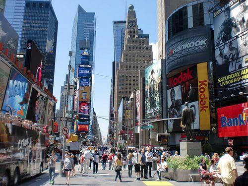 Times Square van