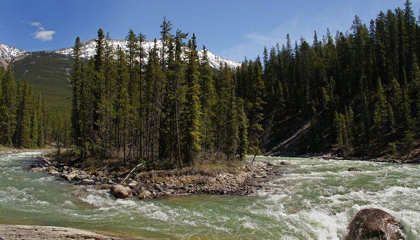 Athabasca River van C.A. Maas