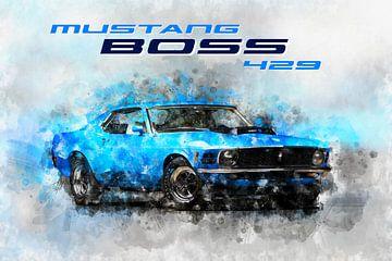 Ford Mustag Boss429 von Theodor Decker