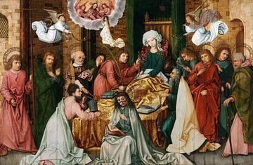 Hans Holbein.Schlafzimmer der Jungfrau
