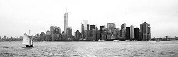 Manhattan Skyline van Fardo Dopstra