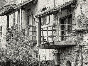 Detail eines Balkons. von Louis Kreuk