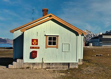 Postkantoor in Ny Ålesund van Kai Müller