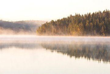 Ochtend zon Noorwegen van Marcel Kerdijk