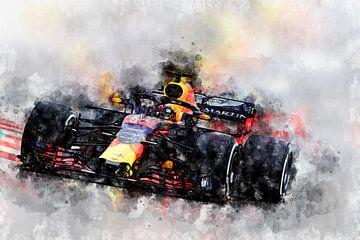 Max Verstappen, F1 von Theodor Decker