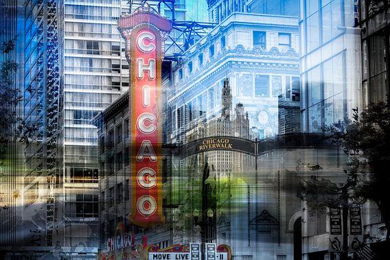 City-Art CHICAGO COLLAGE