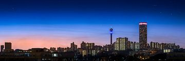 Johannesburg Skyline van Thomas Froemmel