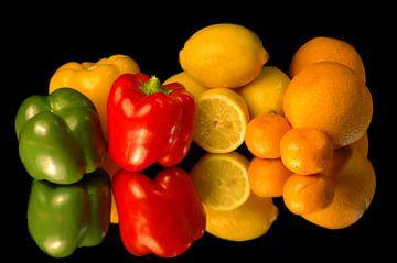 Fruits et légumes sur Brian Morgan