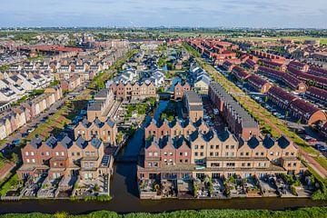 Pakhuizen in Parkrijk (Assendelft) van Pascal Fielmich