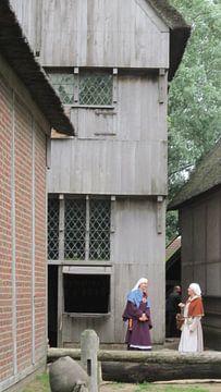 Twee vrouwen uit 1450 zijn aan de praat geraakt van Wilbert Van Veldhuizen