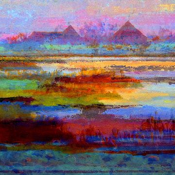 Abstrakt NH Waterland von Ger Veuger